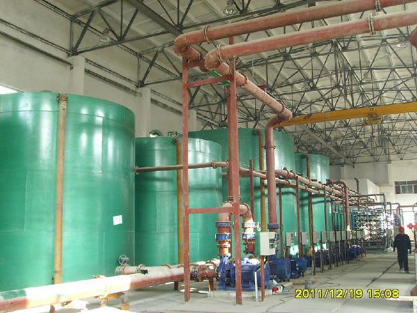 白银公司铜业公司纯水制备项目
